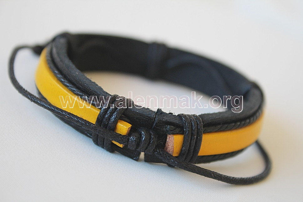 Гривна Храброст - черно и жълто