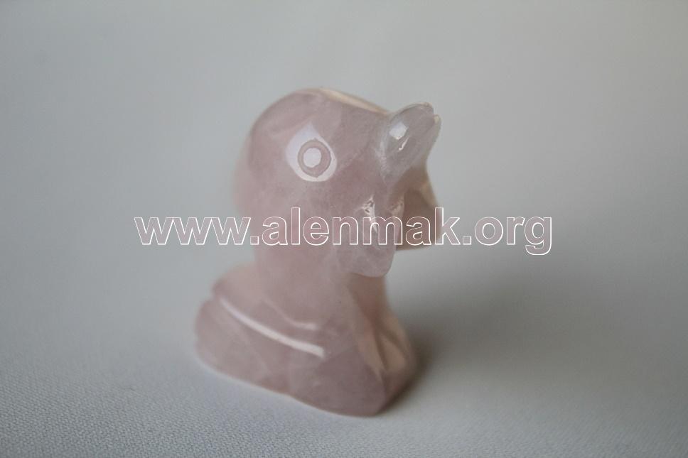 Талисман от Розов Кварц - Делфин