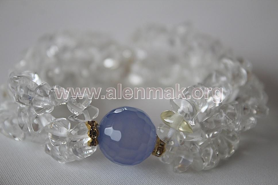 Гривна с Планински кристал - Бистра вода